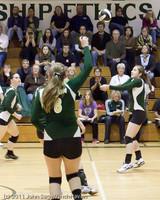 5960 Varsity Volleyball v Casc-Chr 101011