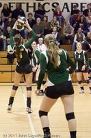 5961 Varsity Volleyball v Casc-Chr 101011