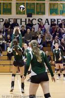 5962 Varsity Volleyball v Casc-Chr 101011
