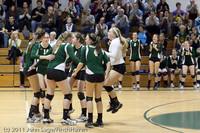 5975 Varsity Volleyball v Casc-Chr 101011