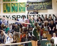 5987 Varsity Volleyball v Casc-Chr 101011