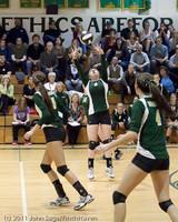 5993 Varsity Volleyball v Casc-Chr 101011