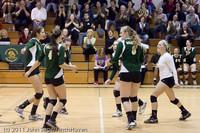 6004 Varsity Volleyball v Casc-Chr 101011
