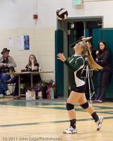 6055 Varsity Volleyball v Casc-Chr 101011