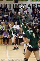 6092 Varsity Volleyball v Casc-Chr 101011