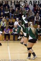 6094 Varsity Volleyball v Casc-Chr 101011