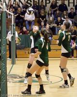 6126 Varsity Volleyball v Casc-Chr 101011