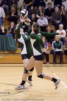 6134 Varsity Volleyball v Casc-Chr 101011