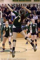 6137 Varsity Volleyball v Casc-Chr 101011