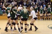 6147 Varsity Volleyball v Casc-Chr 101011