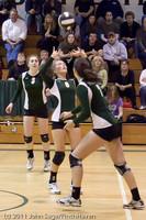 6156 Varsity Volleyball v Casc-Chr 101011