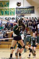 6162 Varsity Volleyball v Casc-Chr 101011