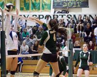 6163 Varsity Volleyball v Casc-Chr 101011