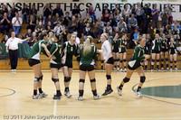 6171 Varsity Volleyball v Casc-Chr 101011