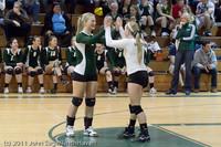 6188 Varsity Volleyball v Casc-Chr 101011