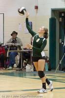 6191 Varsity Volleyball v Casc-Chr 101011
