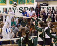 6197 Varsity Volleyball v Casc-Chr 101011