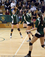 6207 Varsity Volleyball v Casc-Chr 101011