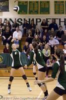 6208 Varsity Volleyball v Casc-Chr 101011