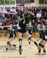 6210 Varsity Volleyball v Casc-Chr 101011