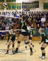 6212 Varsity Volleyball v Casc-Chr 101011