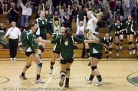 6223 Varsity Volleyball v Casc-Chr 101011