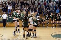 6225 Varsity Volleyball v Casc-Chr 101011