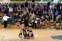 6228 Varsity Volleyball v Casc-Chr 101011