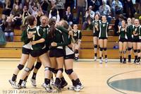 6232 Varsity Volleyball v Casc-Chr 101011