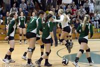 6254 Varsity Volleyball v Casc-Chr 101011