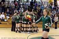 6280 Varsity Volleyball v Casc-Chr 101011