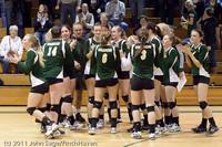 6291 Varsity Volleyball v Casc-Chr 101011