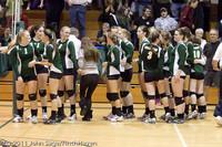 6296 Varsity Volleyball v Casc-Chr 101011