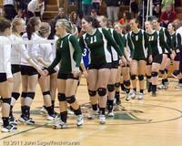 6310 Varsity Volleyball v Casc-Chr 101011