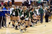 6337 Varsity Volleyball v Casc-Chr 101011