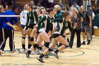 6345 Varsity Volleyball v Casc-Chr 101011