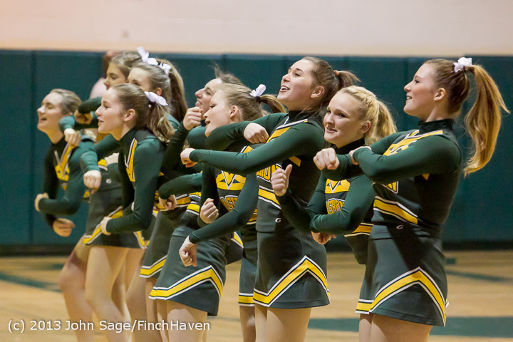 5589 VHS Cheer at Basketball v CWA 020513