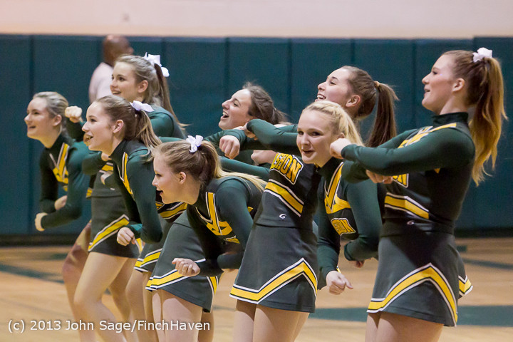 5593 VHS Cheer at Basketball v CWA 020513