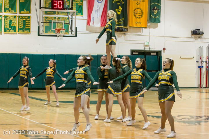 5683 VHS Cheer at Basketball v CWA 020513