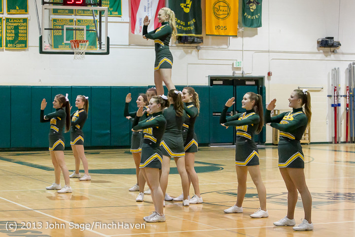 7635 VHS Cheer at Basketball v CWA 020513