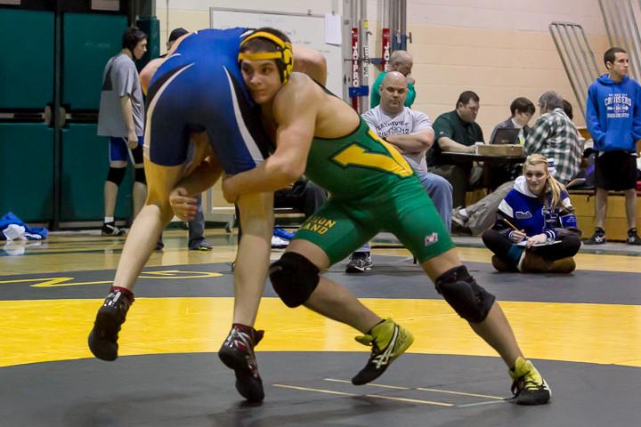 1112 VHS Wrestling at Sub-Regionals 020213