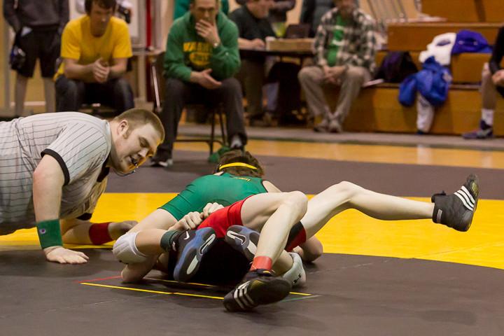 1336 VHS Wrestling at Sub-Regionals 020213