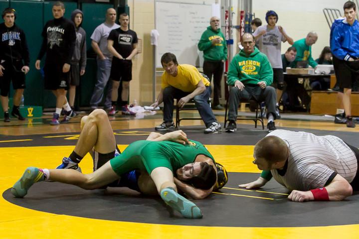 1375 VHS Wrestling at Sub-Regionals 020213