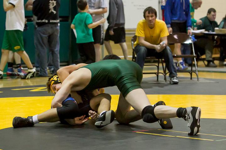 1645 VHS Wrestling at Sub-Regionals 020213