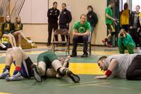 1885 VHS Wrestling at Sub-Regionals 020213