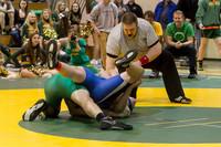 2115 VHS Wrestling at Sub-Regionals 020213