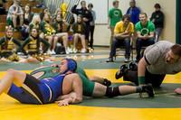 2152 VHS Wrestling at Sub-Regionals 020213