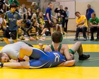 2176 VHS Wrestling at Sub-Regionals 020213