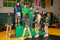 2742 VHS Wrestling at Sub-Regionals Awards 020213