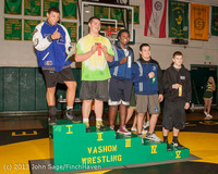 2807 VHS Wrestling at Sub-Regionals Awards 020213